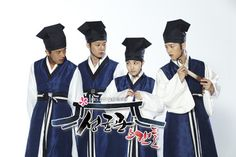 Sungkyunkwan Scandal - Yoo Ah In/Moon Jae Shin, Park Yoochun/Lee Sun Joon, Park Min Young/Kim Yoon Hee, Song Joong Ki/Goo Young Ha