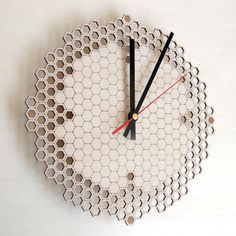 Natural Timekeeping by Asymmetree - Four more days of SALE on FAB Europe! #clocks #lasercut #design