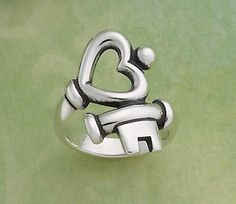 Key to My Heart Ring by James Avery Jewelry. Ive wanted this ring for a long time now! (: