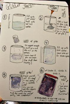 How to make a glitter jar!