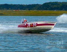 Js-99 Veri Cheri Too Jersey Speed Skiff by Nick Zelinsky