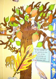 Tree of Life with the fruit Bible Class Visual Aids