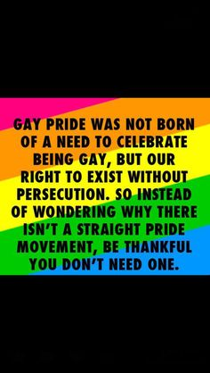 celebrate the pride of being gay