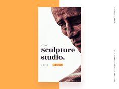 Mobile app for sculpture studio