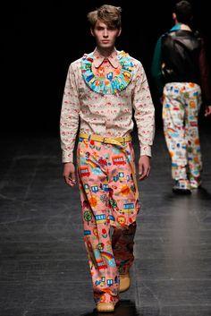 Walter Van Beirendonck Menswear S/S 2016 Paris - GRAVERAVENS