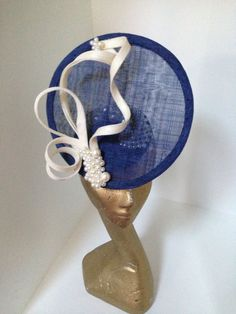 Marc Millinery Sinamay Hats, Millinery Hats, Fascinator Hats, Fancy Hats, Cute Hats, Hat For The Races, Mother Of The Bride Hats, Royal Ascot Hats, Races Fashion