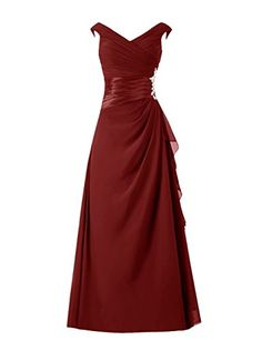 Diyouth Long Cap Sleeves Pleated Chiffon Mother of the Bride Dress Burgundy Size 8 Diyouth http://www.amazon.com/dp/B00TX4V7QU/ref=cm_sw_r_pi_dp_l4.Mvb0WVRAWJ
