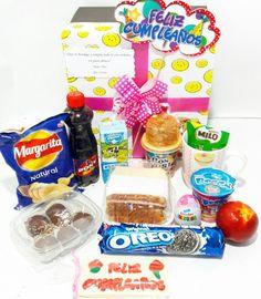 DESAYUNO SORPRESA KIDS PERSONALIZADO CUMPLEAÑOS 🎁🎁🎁@happydealer.co  #happydealer#desayunossorpresa #desayunosbogota#desayunosadomicilio#desayunosorpresaparaniños #regalosbogota#regalospersonalizados #regalossorpresa#regalocumpleaños #regaloaniversario Whatsapp 311589395 Snack Recipes, Snacks, My Tea, Pop Tarts, Margarita, Oreo, Breakfast, Food, Original Gifts