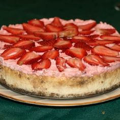 Famous Strawberry Cheesecake recipe