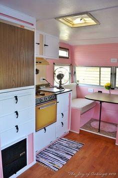 Interior Vintage Camper