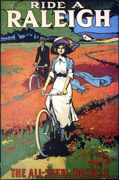 Another Vintage Bicycle POSTER. My first bike was a Raleigh cycling motivation… Raleigh Bicycle, Raleigh Bikes, Vintage Advertisements, Vintage Ads, Vintage Posters, Vintage Graphic, Vintage Bikes, Old Bicycle, Bicycle Art