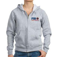 Criminal Minds FBI BAU Zip Hoody on CafePress.com