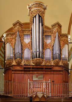 Institute of Historic Organs Oaxaca Mexico