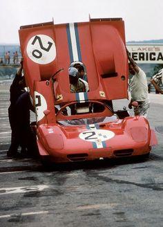 Pedro Rodriguez, Ferrari 512S, Elkhart Lake 1970