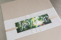 hand lettered packaging accessories | #designaglow