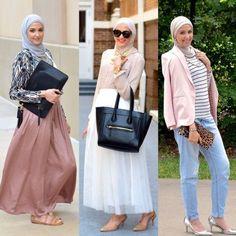 chic and elegant hijab styles