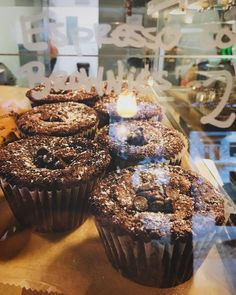 """""""Espresso Cookie Brownies are calling your name this afternoon..."""" Grab these beauties at West End Coffee Shoppe, Greenville, SC // #yeahTHATgreenville #greenvillesc #southcarolina #thingstodoingreenvillesc #upstateSC #discoverSC"""