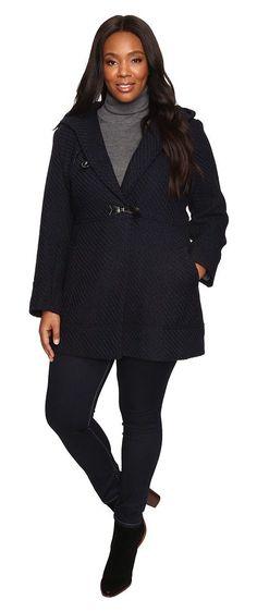 Women's Plus Size Wool Duffle Coat | Plus Size Fashion | Pinterest ...