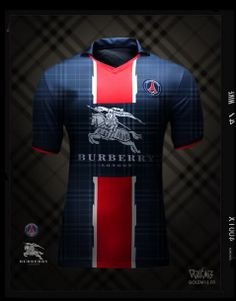 Maillot PSG Burberry - Golem13