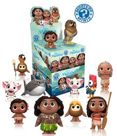Coming Soon: Moana Pop!s, Dorbz, Rock Candy, and More!   Funko