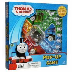 From an age where they count Game recommends 4 and up Amazon.com : Thomas & Friends Thomas the Tank Train Station Pop Up Game : Board Games : Toys & Games