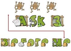 Down Under Teacher: FREEBIE - themed Ask 3 Before Me signs - Jungle, Pirate, Western