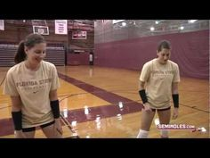 FSU Volleyball: Can You Dig It? - YouTube