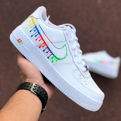 Crepped, custom Nike Air Force 1 sneakers made by professional artists. All our sneakers are made with care. Jordan Shoes Girls, Girls Shoes, Ladies Shoes, Nike Shoes For Women, Cute Shoes For Teens, Cute Nike Shoes, New Nike Shoes, Nike Shoes Outfits, Awesome Shoes