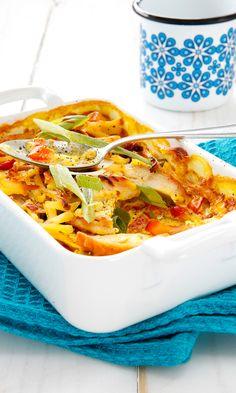 Kanakiusaus | Maku Egg Recipes, Chicken Recipes, Healthy Recipes, Healthy Food, Baked Italian Meatballs, Finnish Recipes, Dinner Rolls, Sweet And Salty, Fodmap