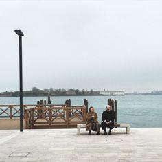 #couple #people #oldman #oldwoman #oldways #oldschool #santamariaelisabetta #sme #potd #picoftheday #photoftheday #fridaymorning #venice #piers #sitting #instagood #instavenice #insta #ig_italy #ig_venice #iphone6s #italy #snapshot #nofilters #nofx by _pier.s