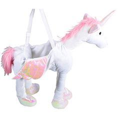 Childrens Brilliant Kids Fancy Dress Party Halloween Costume Ride On Unicorn | eBay