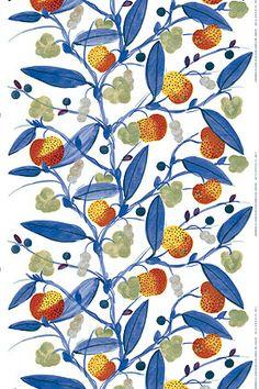 Paratiisi cotton sateen by Marimekko, Pattern designer: Fujiwo Ishimoto