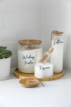 Home Organisation Labels & Storage Solutions Laundry Decor, Laundry Room Design, Laundry In Bathroom, Kitchen Organisation, Laundry Room Organization, Laundry Detergent Storage, Laundry Room Inspiration, Boho Home, Decoration Table