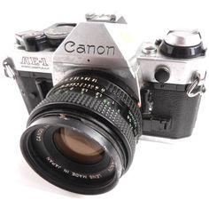 Vintage Canon  AE1 Program Film Camera  1970s