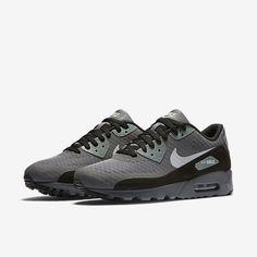 Cheap Nike Air Max 90 Ultra Essential Dark Grey Cool Grey Black Wolf Grey Sale Nike Air Max Trainers, Grey Trainers, Air Max Sneakers, Sneakers Nike, Cheap Nike Air Max, Air Max 90, Dark Grey, Men's Shoes, Wolf