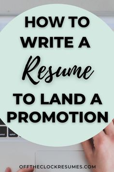 If you're ready to take on more responsibility or visibility at work, start by learning how to write a resume that showcases what you bring to the table to land that promotion | Resume Tips Resume Summary, Resume Help, Resume Tips, Resume Layout, Resume Format, Resume Design, Build Your Resume, First Resume, Resume Profile