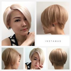 platinum blonde with soft pink highlights