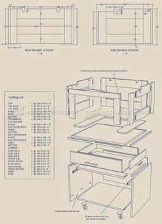 #1351 Triton Router Table Unit Plan - Router