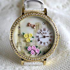 MINI hodinky - Ranní Paříž Bracelet Watch, Watches, Bracelets, Accessories, Wristwatches, Clocks, Bracelet, Arm Bracelets, Bangle