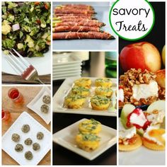 savory-treats and holiday sweets recipes for the holidays