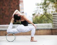 The best wheel on the market. #DharmaYogaWheel  Check @heathalynne featured on her #DYW black/turquoise #YogaWheel