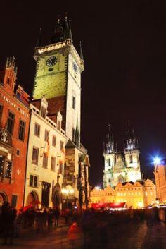 Hotels & Tours in Czech Republic - Prague Old Town Square, Most Beautiful Cities, Czech Republic, Count, Clock, Europe, City, World, Building