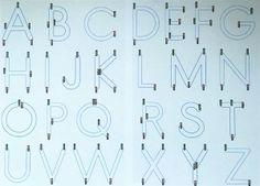 alphabet apprentissage
