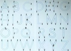 alphabet apprentissage
