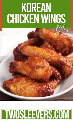 Air Fryer Korean Chicken Wings | Air Fryer Wings | Keto Wings | Keto Korean | Keto Appetizer Recipe | Low Carb Korean Recipe | #airfryerrecipe #ketowings #ketorecipe #ketoappetizer #airfryerchickenwings