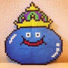 King Slime - Dragon Quest perler beads by saiguri