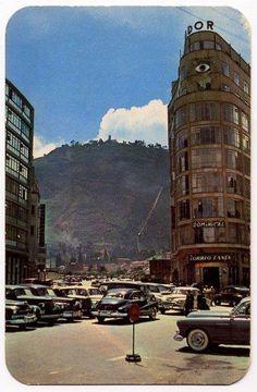 Avenida Jiménez.   Bogotá. Colombia. Colombia Travel, American Country, Time Travel, Big Ben, Vintage Photos, Travel Inspiration, Tours, Landscape, City