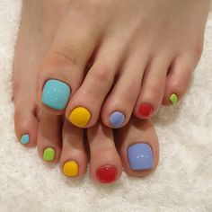 Toe Nail Color, Toe Nail Art, Nail Colors, Dream Nails, Love Nails, My Nails, Feet Nail Design, Toe Nail Designs, Uñas Fashion