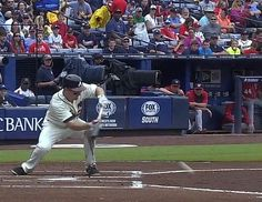 Phil Gosselin's first career hit! Welcome to the Bigs!