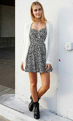 Look Lollapalooza: Vestido Estampado